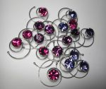 6 Curlies Kristall 7,2mm Swarovski Elements * FARBWAHL